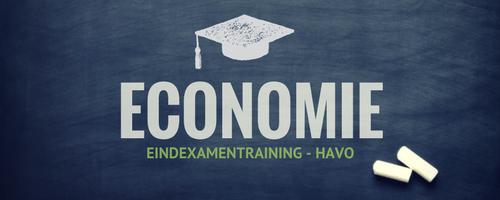 Examentraining Economie – HAVO