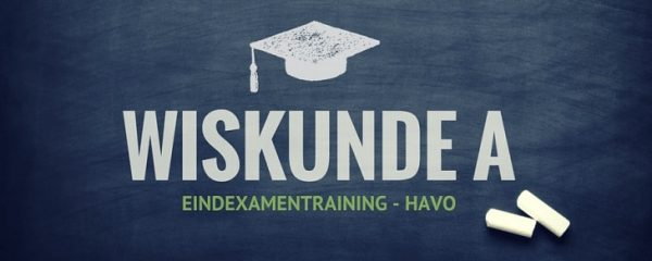 online examentraining wiskunde a havo