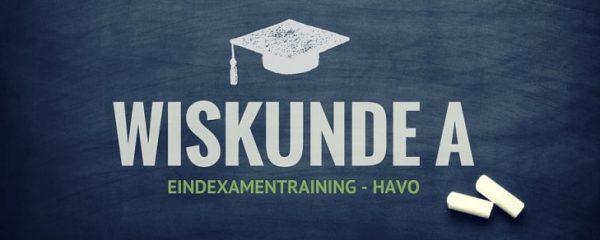 Online examentraining Wiskunde A HAVO