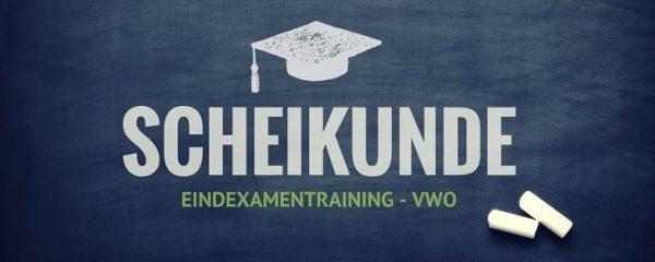 Online examentraining Scheikunde VWO