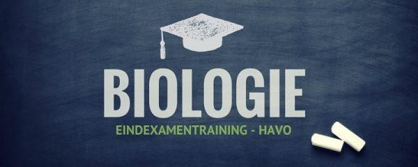 Online examentraining Biologie HAVO