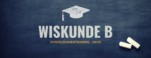 Schoolexamentraining Wiskunde B – HAVO