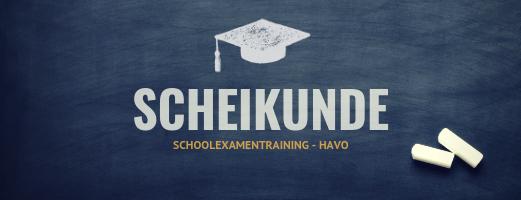 Schoolexamentraining Scheikunde – HAVO