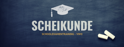Schoolexamentraining Scheikunde – VWO
