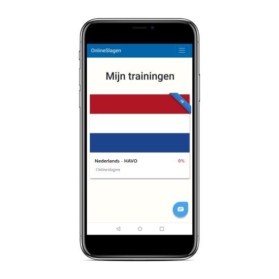 online examentraining nederlands havo