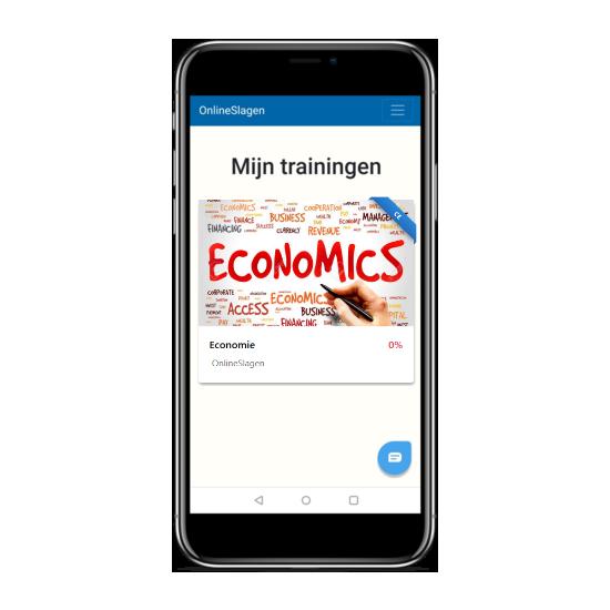 online examentraining economie