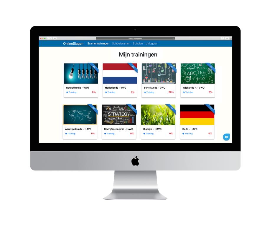 onlineslagen - digitale ondersteuning