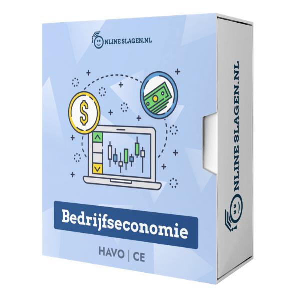 Online Examentraining Bedrijfseconomie – HAVO