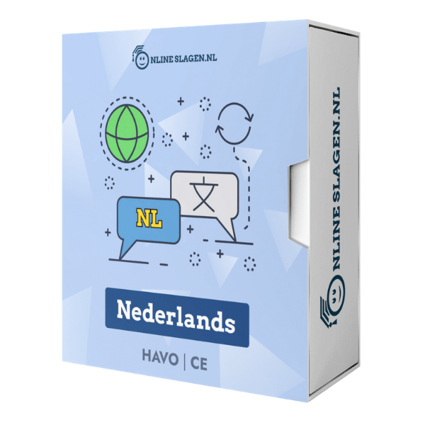 Online Examentraining Nederlands – HAVO