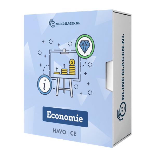 Online Examentraining Economie – HAVO